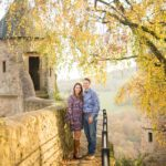 Fall Sweetheart Session at Burg Lichtenberg