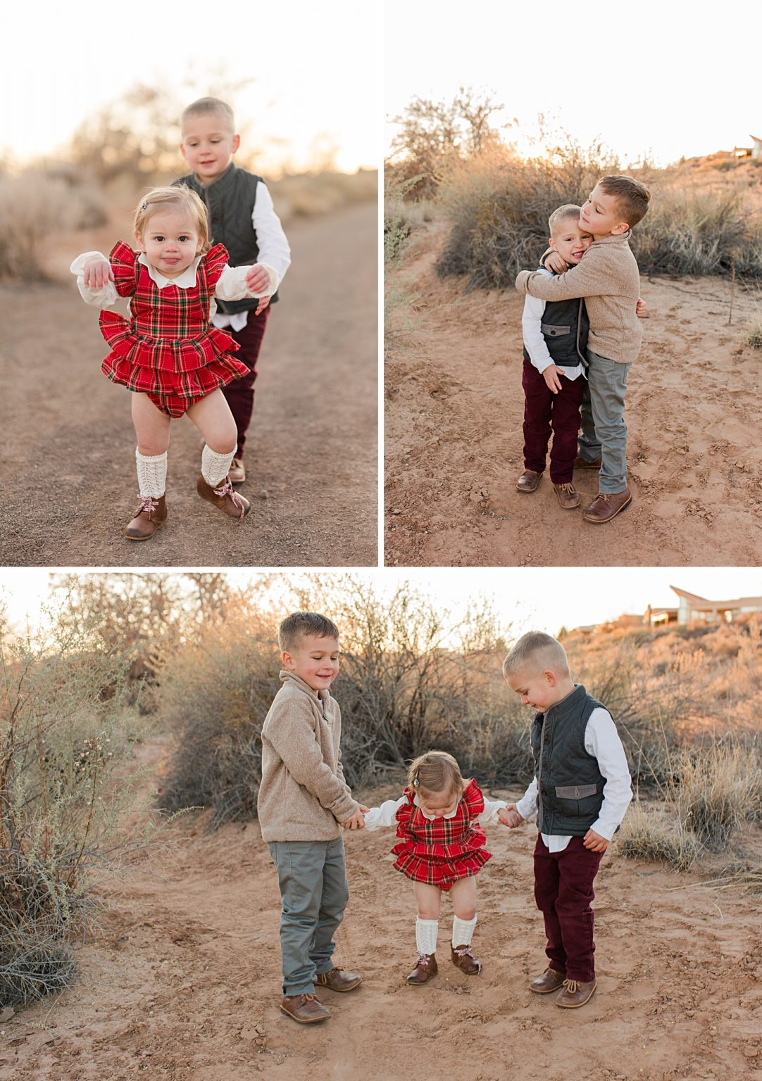 new mexico christmas family session
