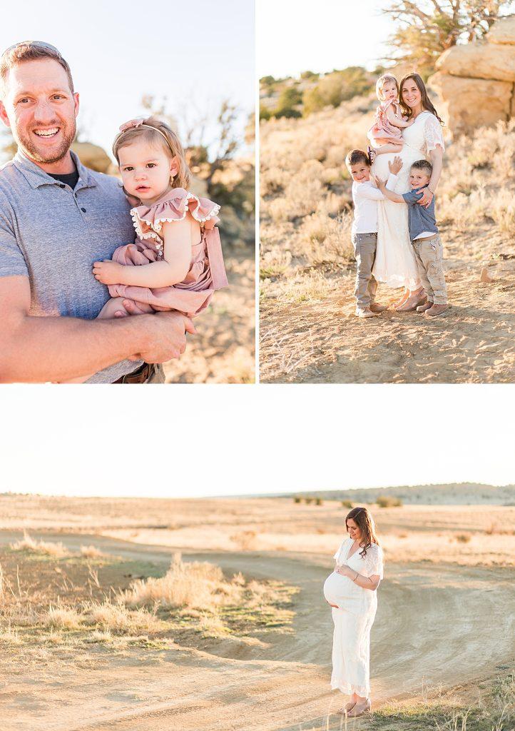 rio rancho family maternity session