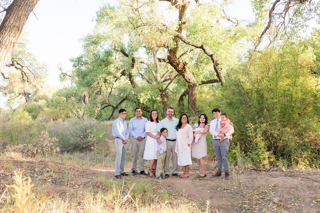 albuquerque family session