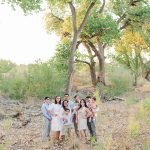 Viana + Kevin | Family Session in the Bosque