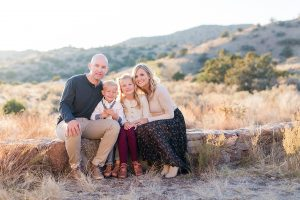 albuquerque foothills family session