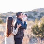 Carly + Collin & Family | Sandia Foothills