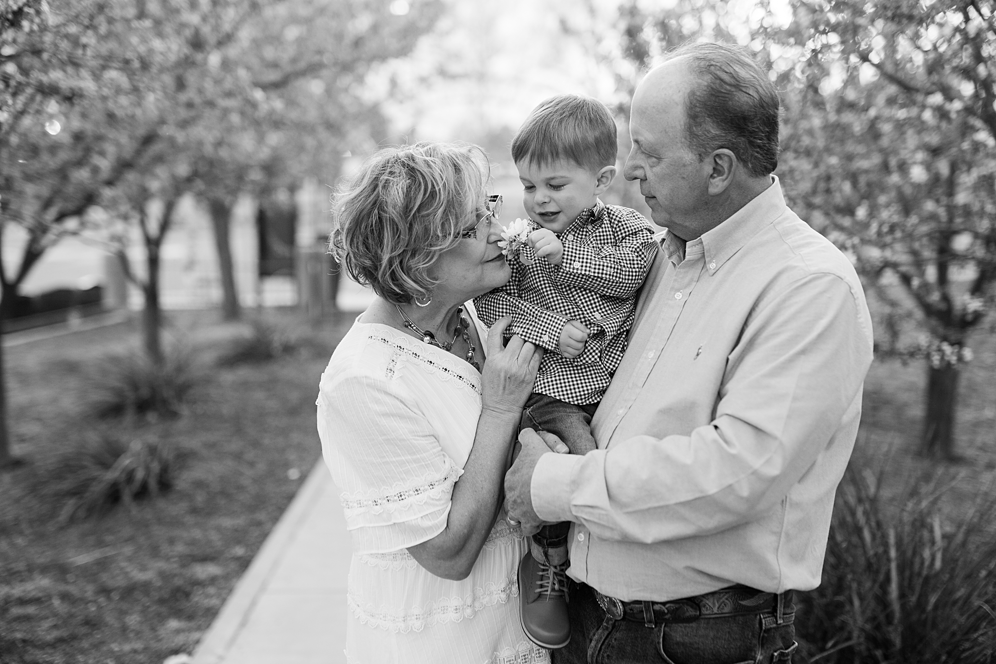 albuquerque family session at park