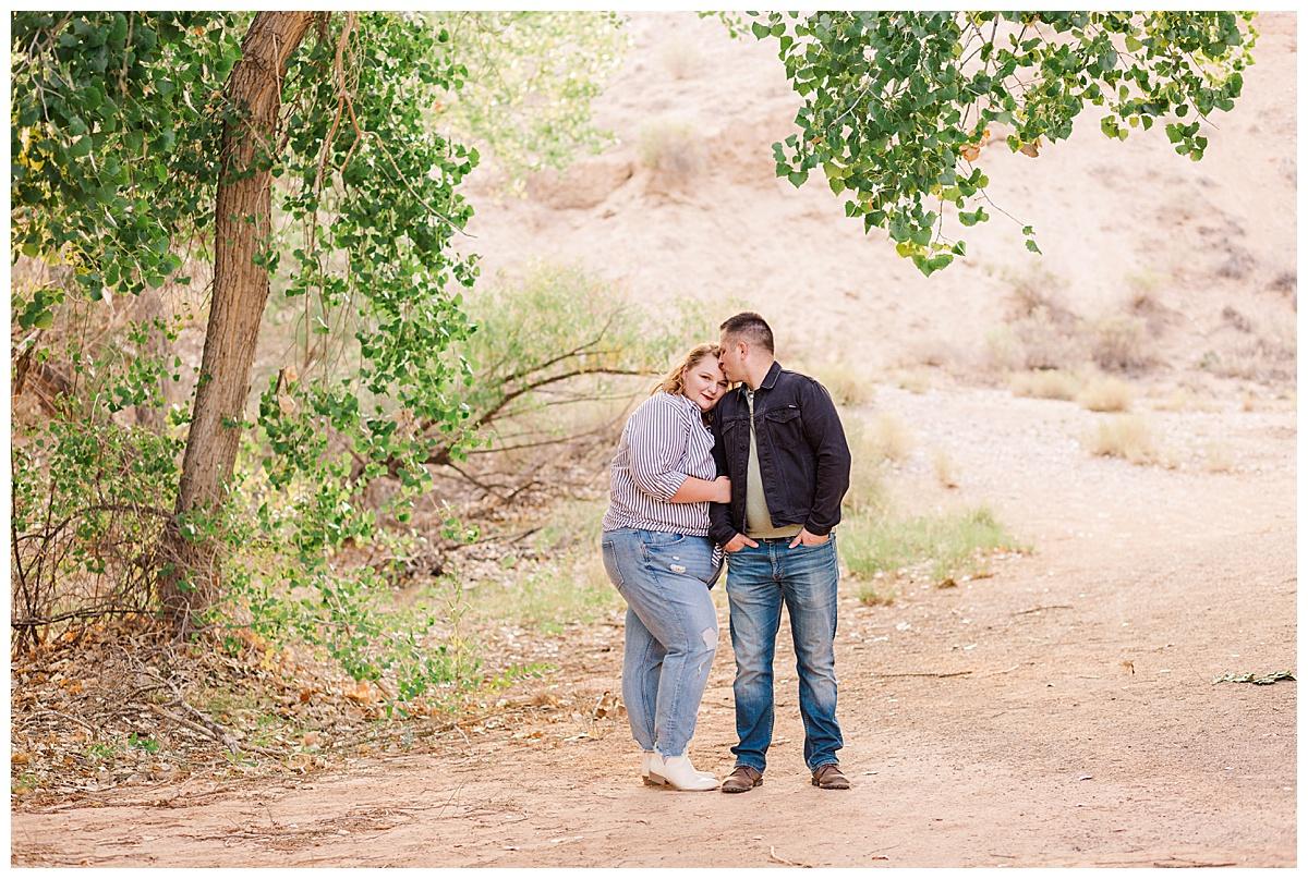 Albuquerque engagement session
